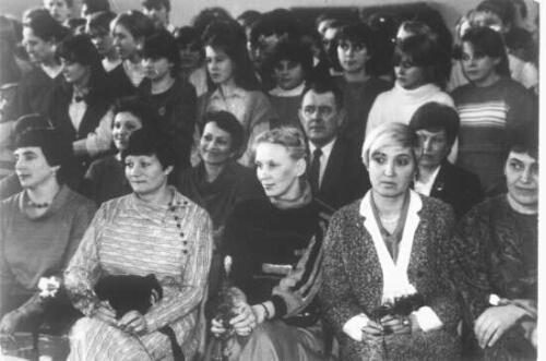 Druga połowa lat 70-tych, Dzień Kobiet