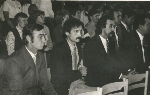 Prof J. Pol, A. Kudelski, E. Śmigielski