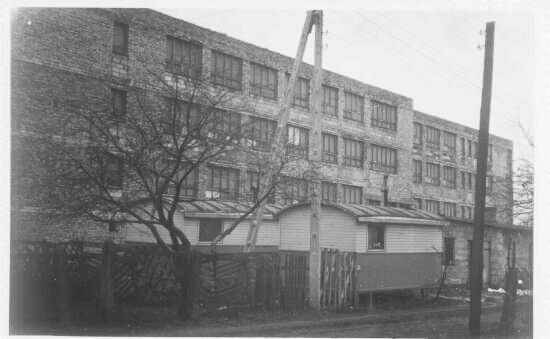 Budowa obecnego budynku liceum