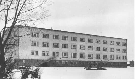 Budynek internatu
