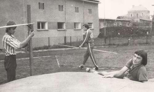 Odpoczynek skoczków - 1976