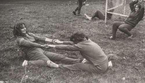 Obóz sportowy 1976 r.